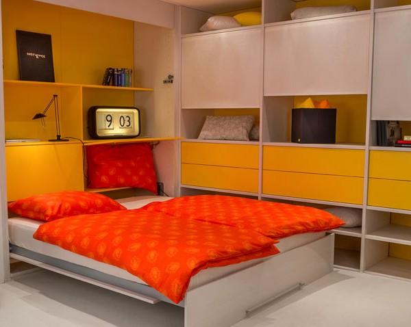 Skrita postelja Akron Aladin